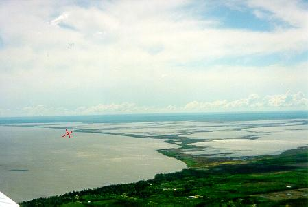 Delta reky Winnipeg