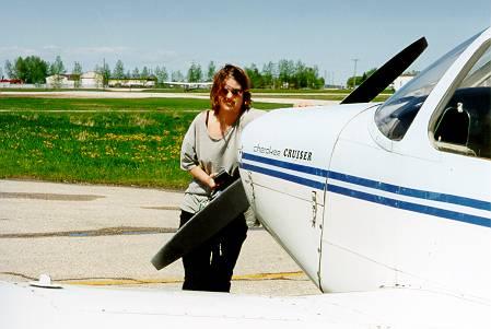 Parkovani letadla